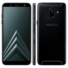 Samsung Galaxy A6 (2018) A600 Dual SIM 32 GB Black Smartphone Handy Android NEU