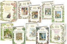 A Year in Brambly Hedge & Adventures in Brambly Hedge Jill Barklem 2 Box Sets