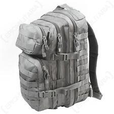 Urban Gris Molle Assaut Pack-Taille Standard Sac à dos Sac à dos militaire NOUVEAU