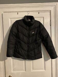 Boys Large Nike Puffer Coat Winter Jacket Used