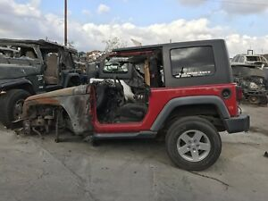 2012 - 2017  JEEP WRANGLER JK BARE TUB WITH ROLL BAR / CAGE OEM BODY FLOOR SIDE