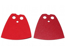 LEGO® Accessories: Star Wars Red / Dark Red Reversible - 1 Cape - Official LEGO