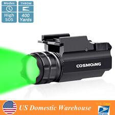 400 Yards Hunting Tactical Weapon Gun Pistol Green Light Rifle Led Flashlight