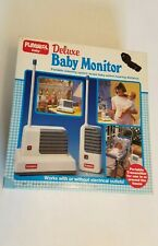 Toy Story Rare 1987 Playskool Portable Deluxe Baby Monitor 5590 complete w box