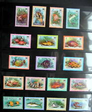 TUVALU 1979 DEFINITIVE FISH COMPLETE SET MINT NH