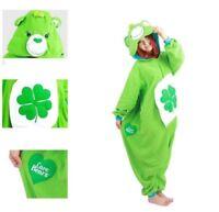 Care Bears Good Luck Bear Kigurumi Animal Adult Pajamas Cosplay Onesie1Sleepwear