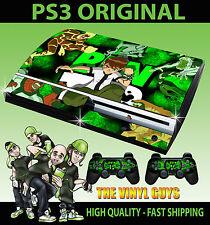 PLAYSTATION PS3 originale ben 10 Omnitrix Tennyson Alien Skin e 2 SKIN Pad