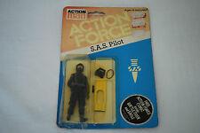 Fuerza de acción Vintage Action Man Gi Joe Palitoy cardada S.A.S piloto figura SAS