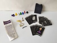 Various Cluedo Pieces From The Original Vintage 1972 Inc Cards, Weapons &Pieces