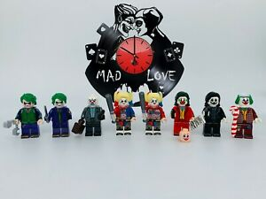 Harley Quinn & Joker Mad Love 8pcs Minifigures Custom Set