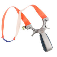 Slingshot Stainless Steel High Velocity Powerful Catapult Hunting Outdoor