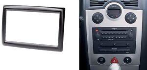 2 Din Radio Fascia for RENAULT Megane II Dash Install Kit Stereo Panel Frame
