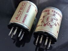 New listing Vintage Altec Lansing Bridging and Line Input Transformers (Pair) 15335A