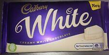 Nouvelle annonce Cadbury blanc crémeux barre de chocolat 180 g NEUF édition limitée RARE
