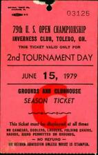 1979 Hang Tag Ticket FRIDAY US OPEN Golf Championship Inverness Toledo HISTORIC