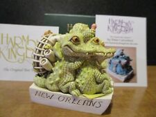 Harmony Kingdom Gamboling Gators V2 Uk Made Hard Body New Orleans Event Pc Sgn