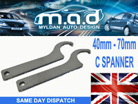 C SPANNER FOR COILOVERS KW K-SPORT BC ZEAL FK AVO TOOL 40-70mm