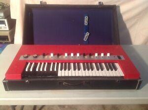 Vintage Yamaha Electone YC-10 Combo Organ Keyboard