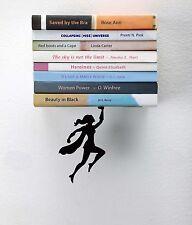 ARTORI Design Wondershelf Super Hero Woman Girl Floating Concealed Book Shelf