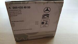 Original Mercedes-Benz Bremsbeläge Vorderachse C-Klasse 205 A0004204900 NEU
