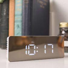 Creative USB LED Numérique Réveil Veilleuse température Présentation miroir