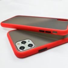 Funda Silicona Antigolpes Iphone 6 7 8 Plus 11 Pro Max X XR 2020 Botones Trans