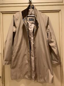 Burberry of London Ladies womens nova check plaid jacket size XXL 12-14 belt