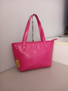 Ralph lauren tote bag leather NEVER USED