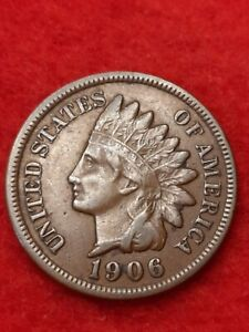 1906 Indian Head Penny#69a