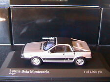 LANCIA BETA MONTECARLO 1980 SILVER MINICHAMPS 400125761 1/43 GRIGIO SILBER
