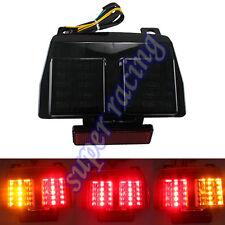 Black Brake Turn Signal Tail Light Integrated For Ducati 996 998 748 R/S 00-02