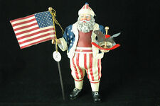 1992 Patriotic Santa Limited Editions by Possible Dreams Clothtiques