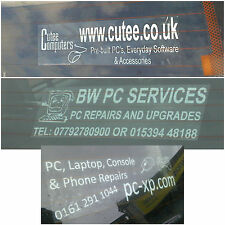 300mm Custom Made Sticker Sign-Advertise Business,Service,Fun-Window and Bumper