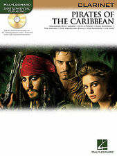 PIRATES OF THE CARIBBEAN CLARINET PLAY ALONG SONG BOOK