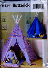 Child's Indian Tepee and Mat - Sewing Pattern