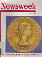 JUNE 29 1959 NEWSWEEK magazine QUEEN ELIZABETH