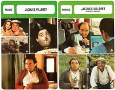 FICHE CINEMA x2 : JACQUES VILLERET -  France (Biographie/Filmographie)