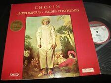 CHOPIN IMPROMPTUS<>FRITZ KERMANN<>Lp Vinyl°France Pressing°MUSIDISC 30 RC 847