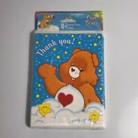 NIP 2002 Care Bears Party Thank You Notes 8 Count American Greetings Tenderheart