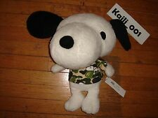 A Bathing Ape x PEANUTS Snoopy Plush Doll KAWS Bape 2013 C