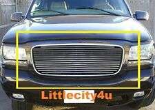For 1998 1999 2000 2001 Cadillac Escalade Billet Grille Grill Inserts