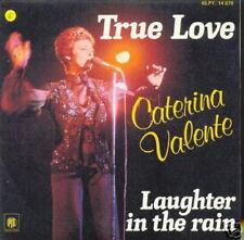 CATERINA VALENTE 45 TOURS FRANCE TRUE LOVE++