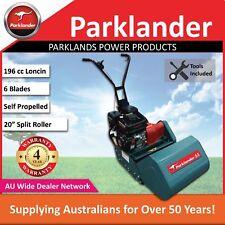 """New Parklander 53 20"""" 196 cc Loncin Cylinder Reel Mower - Split Rear Roller"""