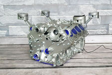 Ab sofort Audi 4.2l S4 V8 Motortisch Tisch Motorblock Engine Motor Coffee Table