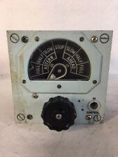 Vintage VCS Unit 181 Engine Order Indicator Unit from Type 42 6320-99-521-9240
