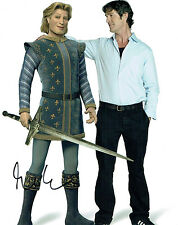 Rupert EVERETT Signed Autograph 10x8 Photo AFTAL COA Prince Charming Voice SHREK