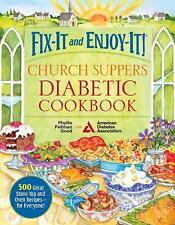 New Church Suppers  Diabetic Cookbook  500 Great Stove Top and Oven Recipes Book