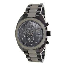 Emporio Armani Uhr AR5953 Sportivo Herren Chronograph Edelstahl Silikon Grau NEU
