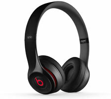 BEATS BY DR DRE SOLO 2 WIRED HEADBAND EAR-PAD HEADPHONES GLOSS BLACK MH8W2ZM/A