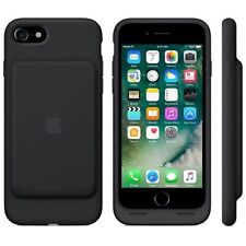 Genuine Apple iPhone 7 Smart Battery Case Cover A1765 - Black OL 81350
